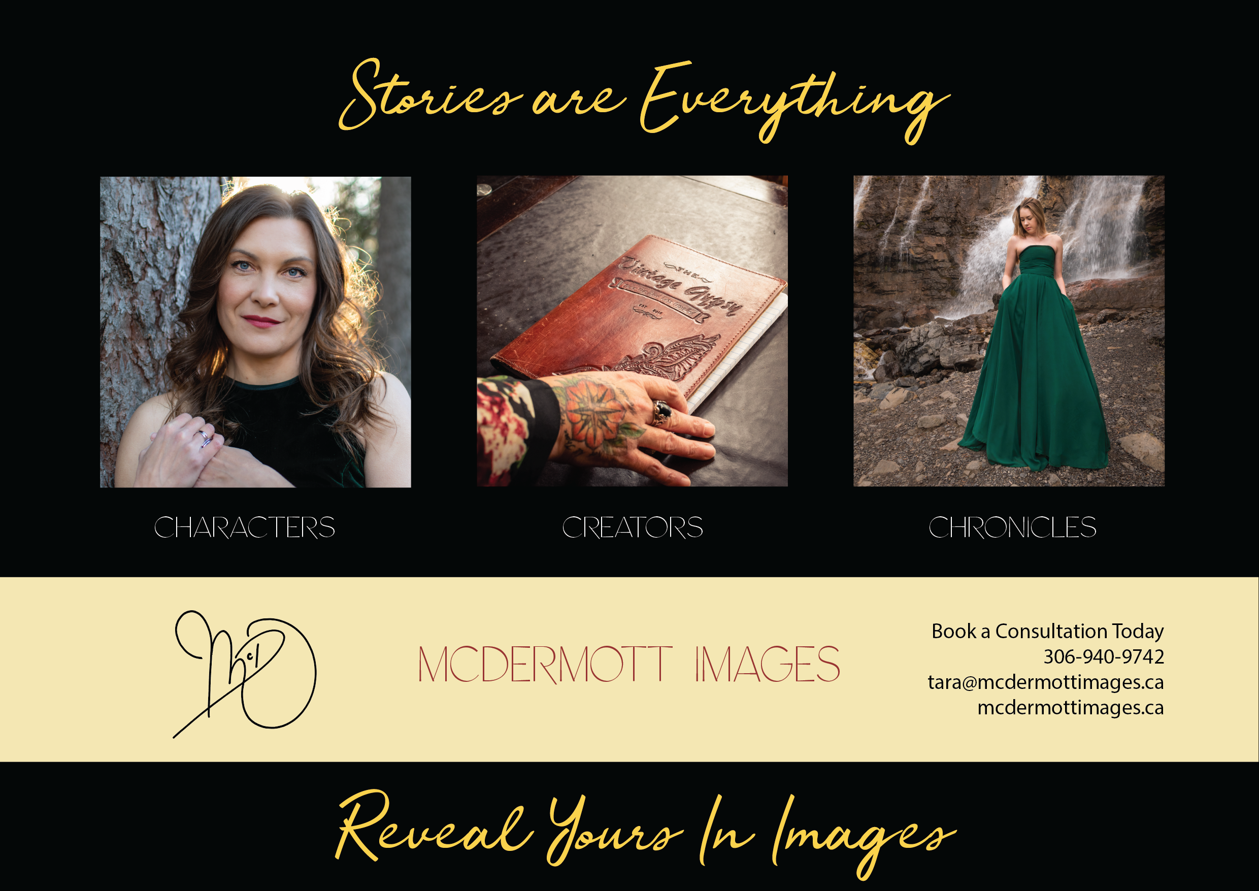 McDermott Images Half Page Ad