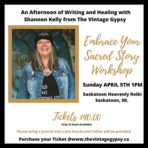 Embrace Your Sacred Story Workshop