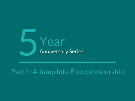 vChief's 5 Year Anniversary: Part 1 - A Jump into Entrepreneurship