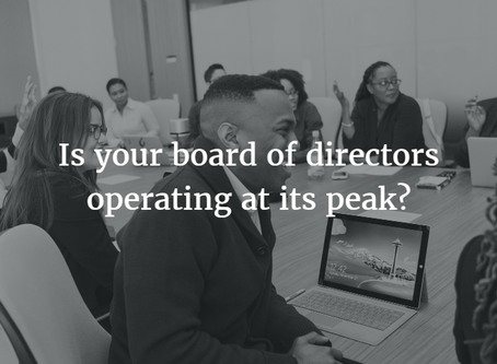 Five Steps to Get Your Nonprofit Board to Peak Performance