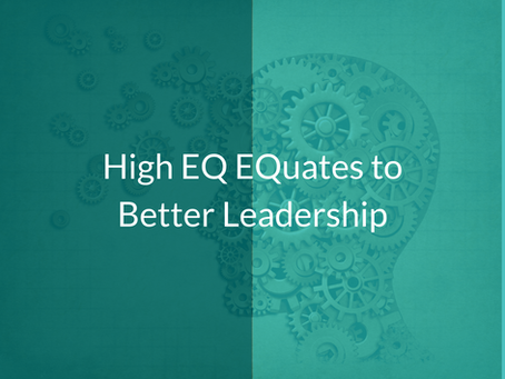 High EQ EQuates to Better Leadership