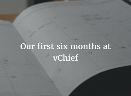 The First 6 Months: What We've Been  Up To