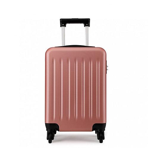 Rose Gold Wheeled Mini Suitcase