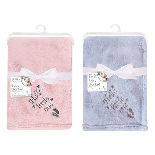 Supersoft Hello Little One Blanket