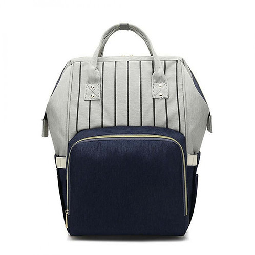 Blue and Grey Changing Backpack