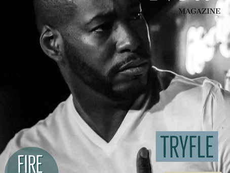 CHECK OUT TRYFLE ON THE COVER OF THE CAREER NOW MAGAZINE!!