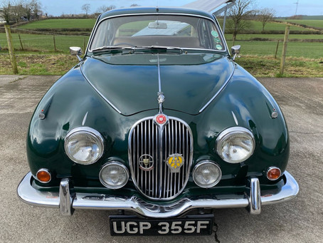 1968 Jaguar 340 added to the Inventory