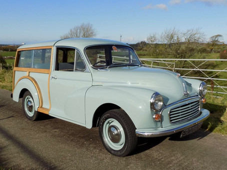 Morris Minor Traveller now sold