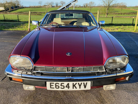 1987 Jaguar XJ-SC V12 now for sale