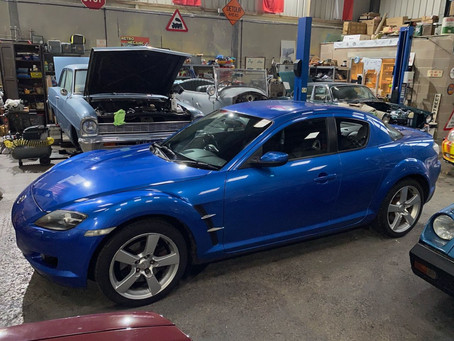 Mazda RX8 now sold