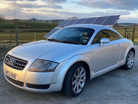 Audi TT Quattro now sold