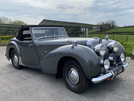 Triumph Roadster coming soon to the Inventory