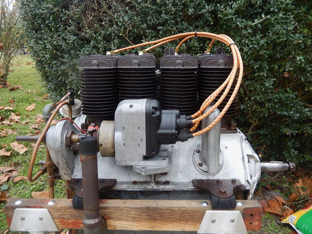 Henderson-Heath aero engine now sold