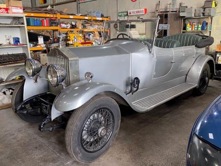 Rolls-Royce 20/25 progress
