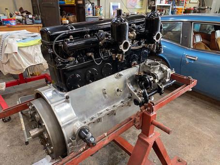 Derby Bentley engine nearly done
