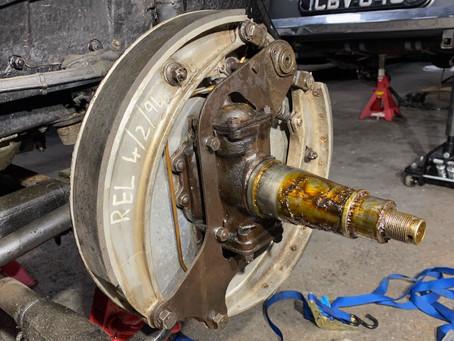 Rolls-Royce Phantom II brake check