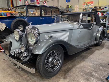 Derby Bentley ready for test drive