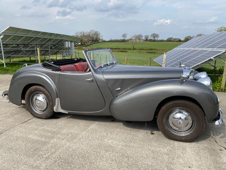 Triumph Roadster now for sale