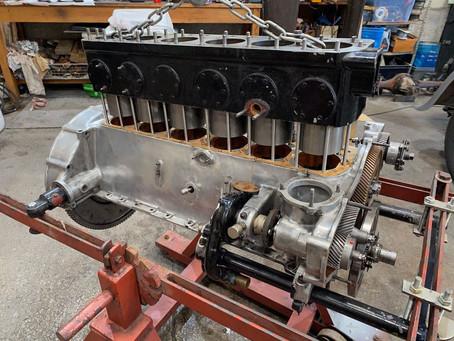 Derby Bentley engine progress