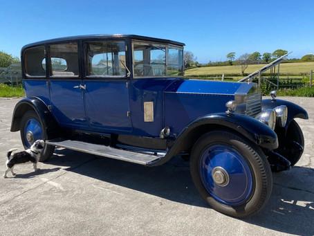 Rolls-Royce 20hp in the workshop