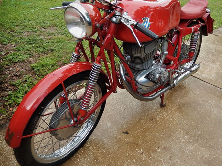 1957 MV Agusta now for sale