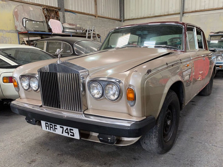 Rolls-Royce Silver Shadow II almost done