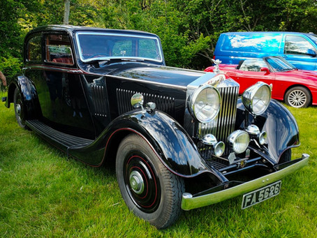 Rolls-Royce 20/25 at Wray car meet