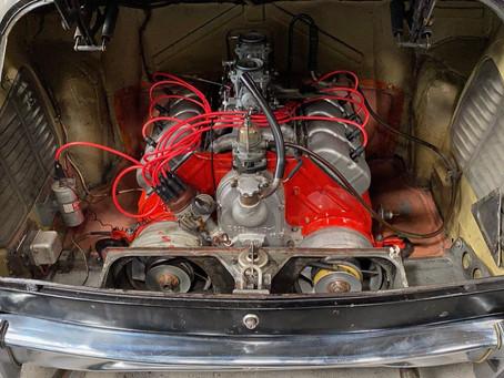 Tatra 603 engine rebuild