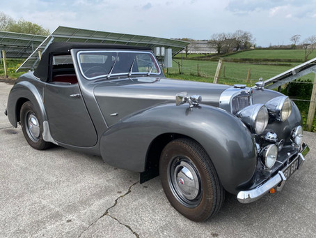 Triumph Roadster now sold
