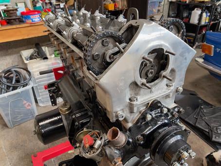 Jaguar XJ6, a bit more progress