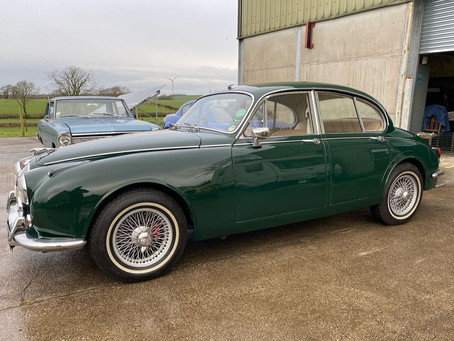 1968 Jaguar 340 coming soon to the Inventory