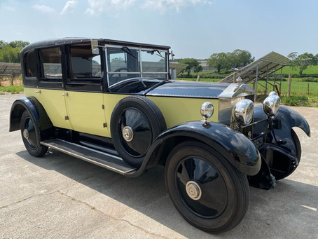 1929 Rolls-Royce 20hp coming soon to the Inventory