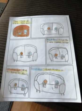 Comic Strip - Page 1