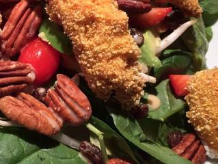 Salade filet de poulet et avocats à l'érable