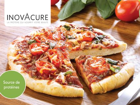 Pizza protéinée sauce tomates