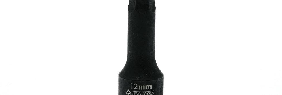 "1/2"" DRIVE - IMPACT HEX - 12mm (Teng Tools)"
