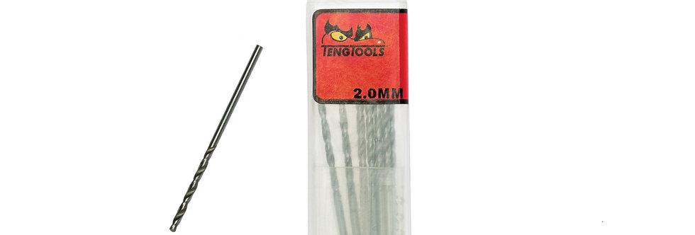 10PC 2.0MM DRILL BIT (Teng Tools)