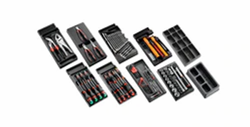 118PC GENERAL TOOL SET IN ROLL6 (Facom)