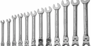 12 PC FLEXIBLE RATCHETING WRENCH SET (Facom)