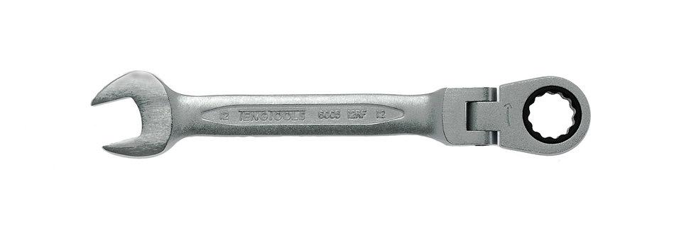 12mm FLEX HEAD RATCHET SPANNER (Teng Tools)
