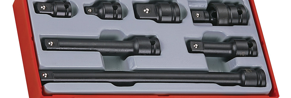 "1/2"" DRIVE IMPACT ACCESSORIES SET (Teng Tools)"