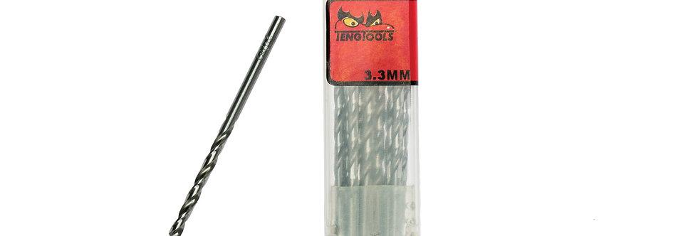 10PC 3.3MM DRILL BIT (Teng Tools)