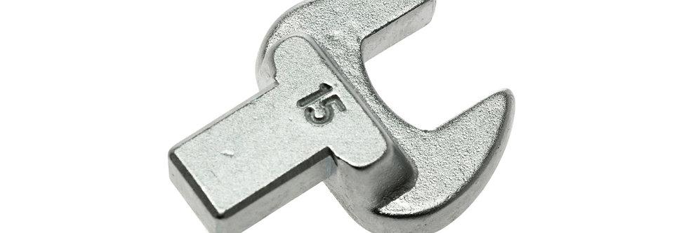 15mm OPEN END INSERT SPANNER (TQWC100) (Teng Tools)