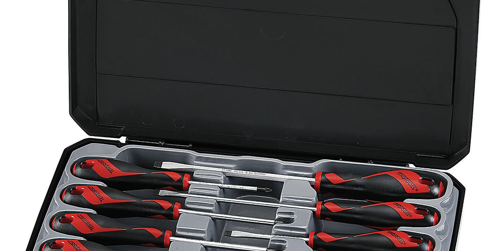 10 PIECE SCREWDRIVER SET (MD912) (Teng Tools)