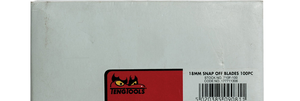 100X18MM SNAPOFF BLADES (710F-100) (Teng Tools)
