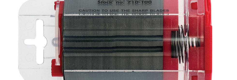 100 UTILITY KNIFE BLADES (710-100) (Teng Tools)
