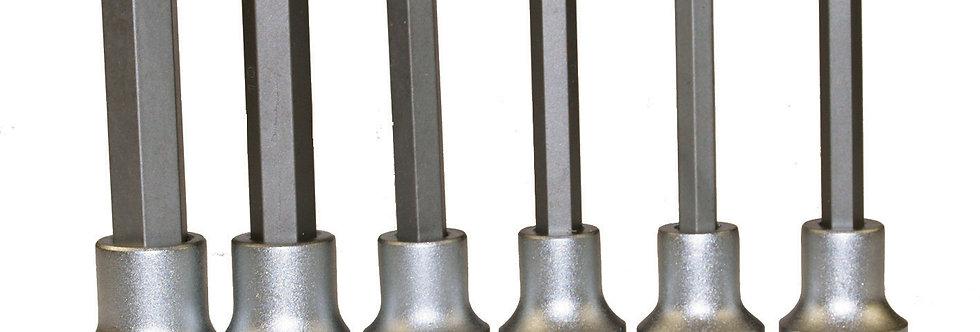 """1/2"""" DRIVE LONG HEX CLIP RAIL (Teng Tools)"""