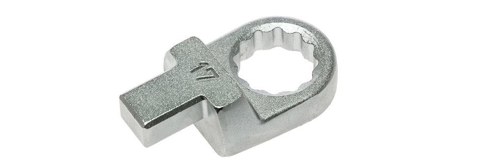 17mm RING INSERT SPANNER (TQWC100) (Teng Tools)
