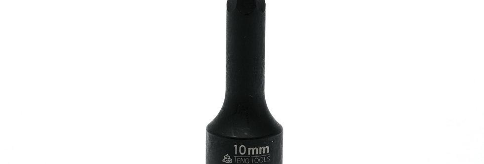 "1/2"" DRIVE - IMPACT HEX - 10mm (Teng Tools)"