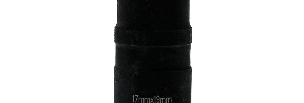 "1/2"" DRIVE - DOUBLE END SOCKET - 17/19mm (Teng Tools)"